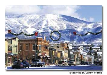 Steamboat Springs, Colorado, at an elevation of 7,000 feet, has a strong skiing tradition and a Western heritage that stretches back a century.