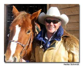 Ranching and skiing traditions run as deep as snow in Steamboat Springs. Horse-breeder Ray Heid, a former member of the U.S. ski-jumping team, can be regularly spotted on the slopes, sporting a cowboy hat.