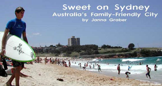 Sydney is a great family destination.