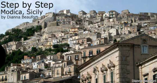 Modica is perfect for people who like hiking.