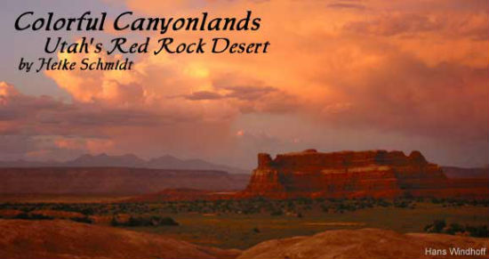 Canyonlands are endlessly colorful.