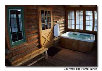 The tone at The Home Ranch is laidback, yet the amenities are never short on luxury.