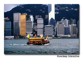Ferry rides offer a more meditative way to experience Hong Kong.