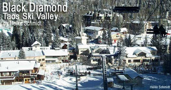 This small sports resort in northern New Mexico offers great skiing.