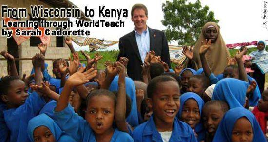 The program lets volunteers teach kids.