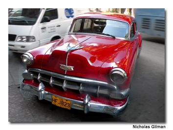 Havana appears untouched since the revolution of 1959, with '50s architecture and classic cars completing the image.