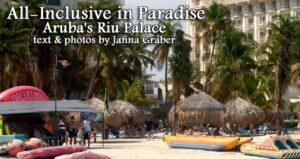 Kickin' Back at the Aruba Riu Palace