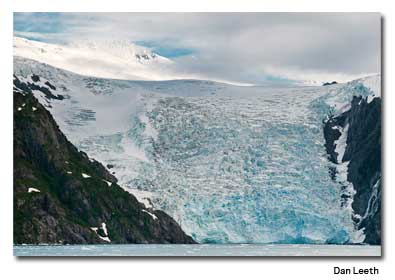 Blackstone Glacier at Blackstone Bay