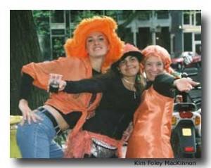 Orange Day in the Netherlands