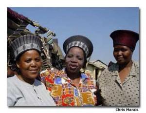 Zulu Shopping in South Africa