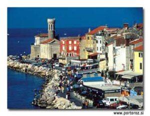 Mediterranean Siren: Piran, Slovenia