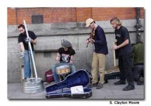 Musicians in Dublin