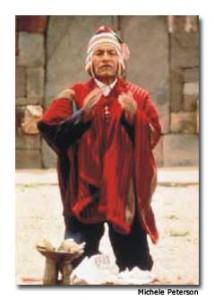 Tata Lorenzo, Kallawaya medicine man,