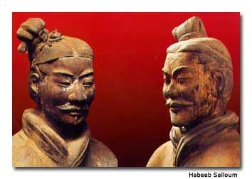 Xi'an-Heads-of-Terra-Cotta-
