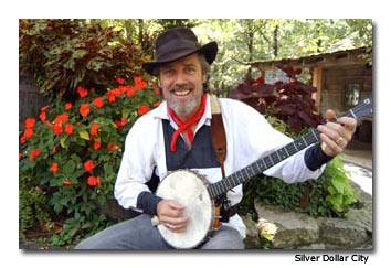 A local musician in Branson