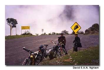 Biking in Boliva