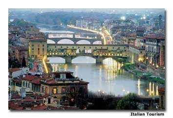 The beautiful Ponte Vecchio bridge is a place of romance, yet it once contained secret tunnels to protect a fearful Duke from his would-be assassins.