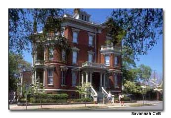 Georgia's southern charm is evident at the Kehoe House, one of Savannah's more than 45 historic inns and B&Bs.