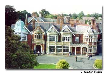 The mansion at Bletchley Park was home to Station X, a top-secret facility where an army of code breakers worked during WWII.