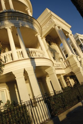 Enjoying some of the beautiful architecture in Charleston. Photo by ExploreCharleston.com