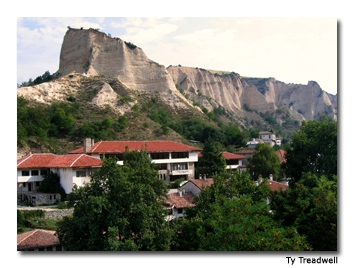 The cliffs of Melnik are considered one of the most impressive natural phenomena in the country.