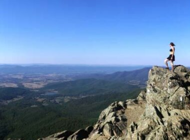 Overlooking the Appalachian Trail