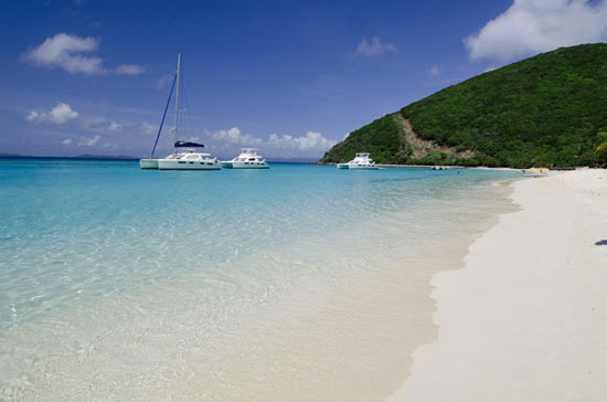 White Bay, Jost Van Dyke. Photo by BVI Tourism