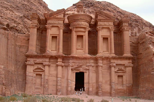 The Ad-Deir Monastery of Petra is well worth the climb. Photo by Habeeb Salloum