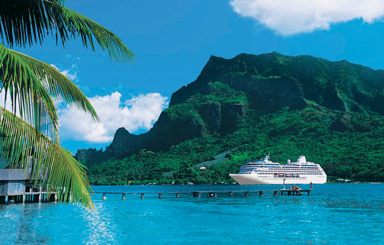 Princess Cruises visit Moorea Island in French Polynesia. Photo by Princess Cruises