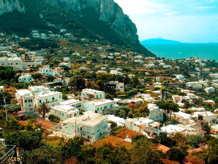 Capri, Italy's Italian architecture
