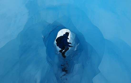 Franz Jozeph Glacier. Photo by David Traves