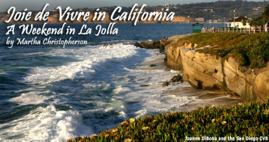 La Jolla is the perfect destination for those longing to lounge on a beach in France.