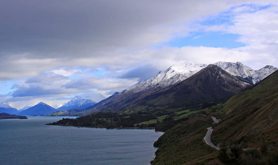New Zealand's diverse landscape. Photo by Rick DuVal