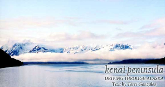 Alaska has breathtaking sights, like these clouds hanging over mountains.