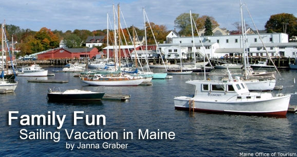 Family Fun: Sailing Vacation in Maine