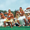 Dancers at the Pacific Islander Festival in San Diego, California. Photo courtesy of Brett Shoaf