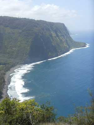 Waipio Valley on Hawaii's Big Island