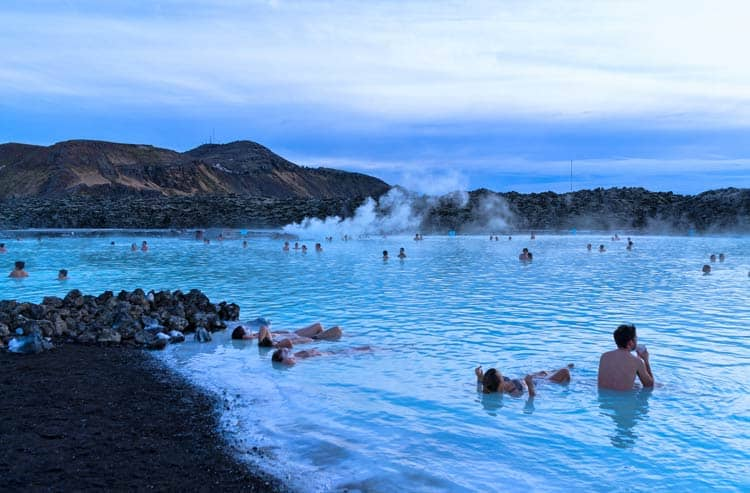 Relax at the Blue Lagoon all day