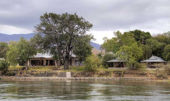 Baines River Camp (http://www.bainesrivercamp.com/). Part of the prestigious Mantis Group, this beautifully appointed lodge nestles imperiously on the banks of the Zambezi.