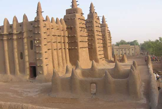Mud Mosque in Djenne, Mali. Photo by James Dorsey