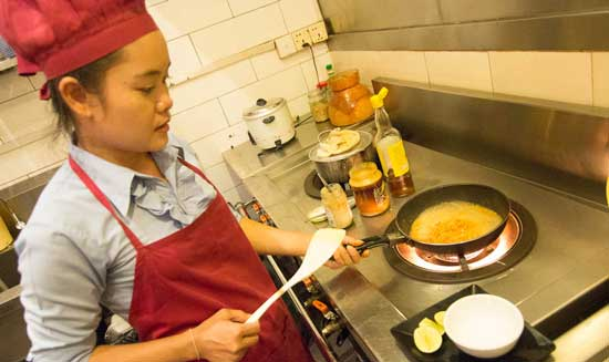 Cooking classes in Cambodia