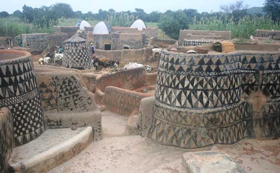 Homes in Tagasango, Burkina Faso. Photo by James Dorsey