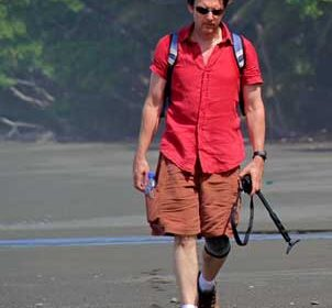 Author and actor Andrew McCarthy in Costa Rica