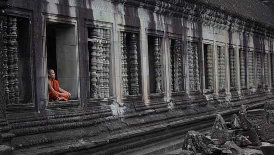Cambodia is rich in culture and photography opportunities, such as this scene from Angkor Wat. Photo by KJ Gan