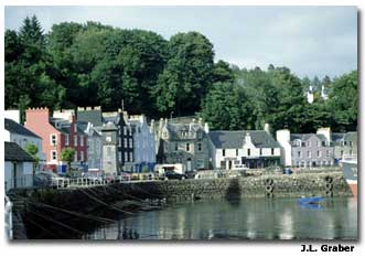 Tobermory, Scotland was the site of our latest adventure.