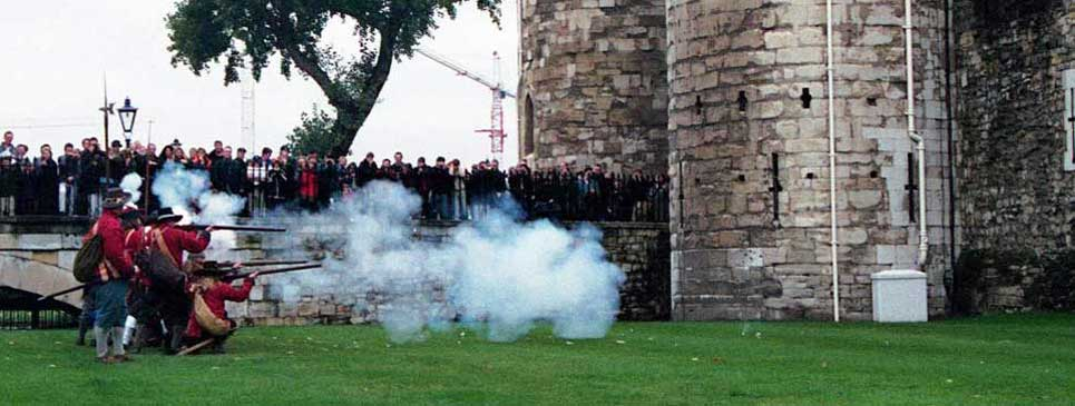 Ghost sightings at the Tower of London