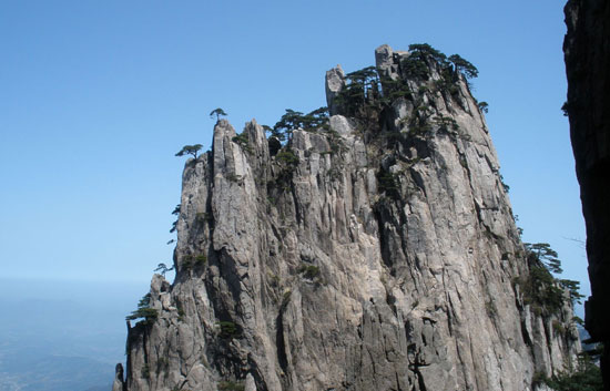 Huangshan Mountain in China
