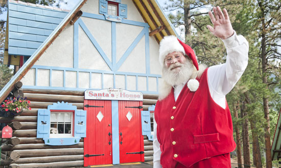 Santa Clause is a year-round resident at the North Pole. Photos courtesy North Pole/Santa's Workshop (Colorado)
