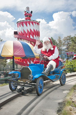 USA Today voted the North Pole on of the top 10 places for grandparents to take their grandkids. Photo courtesy North Pole/Santa's Workshop (Colorado)