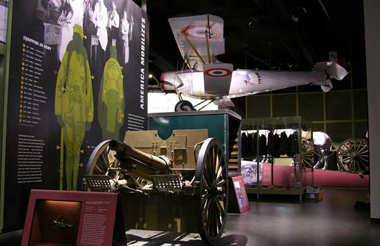 The WWI Museum in Kansas City helps bring history to life to all ages.